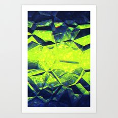 Kryptonium. Art Print