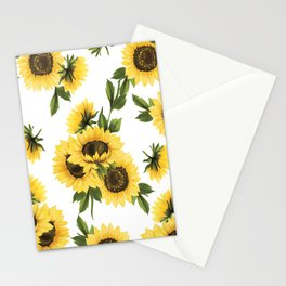 Lovely Sunflower Stationery Cards