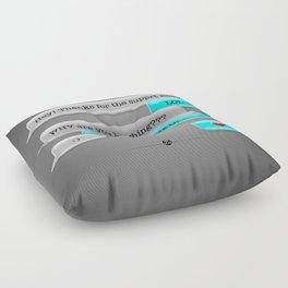 Lots Of Love Text Floor Pillow