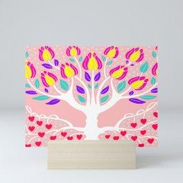 Love Grows Forever - Blush Peach Mini Art Print