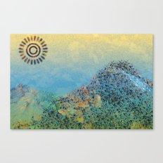 Mountain Series - Daylight Canvas Print