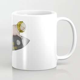 spacepig gold Coffee Mug