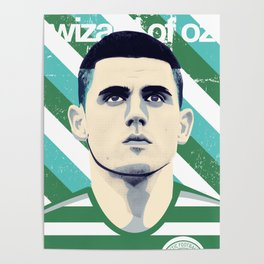 Tom Rogic, The Wily Wizard Poster
