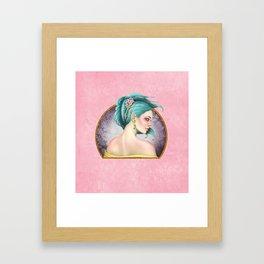 A Floral Affair Framed Art Print