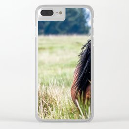 Wild. Clear iPhone Case