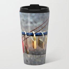 LOVE LOCKED - GOLDEN GATE BRIDGE Travel Mug