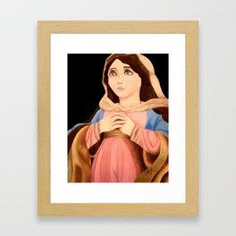 The Blessed Mother Framed Art Print