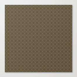 Autumn Brown Pattern Canvas Print