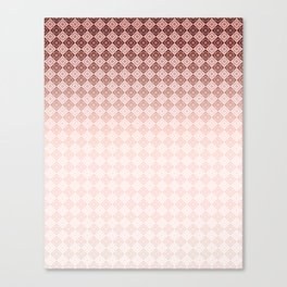 Geometric , gradient , Ombre Canvas Print