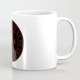 666- the number of the beast with the sigil of Lucifer symbol Coffee Mug