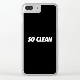 #TBT - SOCLEAN Clear iPhone Case