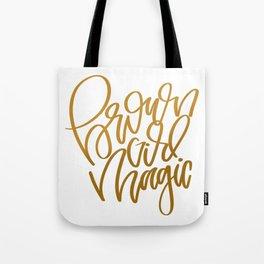 UrbanNesian Brown Girl Magic Tote Bag