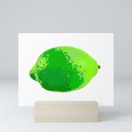 Lime Mini Art Print
