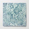 Marigold Lino Cut, Denim Blue by alexandratarasoff