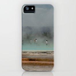 Geyser Heaven iPhone Case