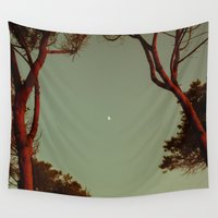 shadow Wall Tapestries featuring Moonlight Shadow by Schwebewesen • Romina Lutz