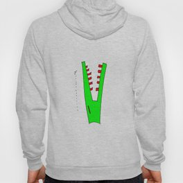 alligator and mosquito Hoody