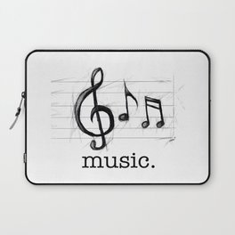 Music From The Heart Laptop Sleeve