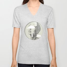 Town Facet Unisex V-Neck