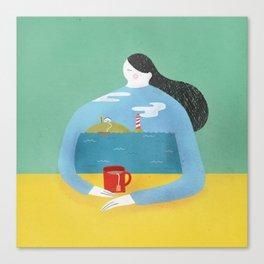 Sea Shirt Canvas Print