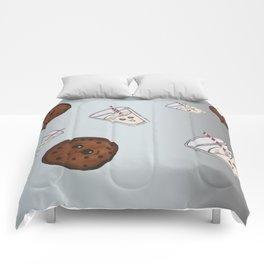 Cookies and Milk Comforters