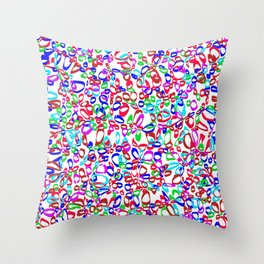 nervous ohs Throw Pillow