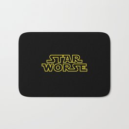 Star Worse Bath Mat