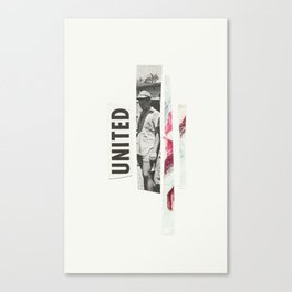 united. Canvas Print