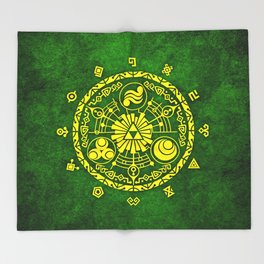 Legend Of Zelda  Throw Blanket
