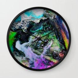 Abstract Melt III Wall Clock
