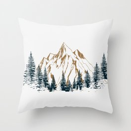 mountain # 4 Throw Pillow