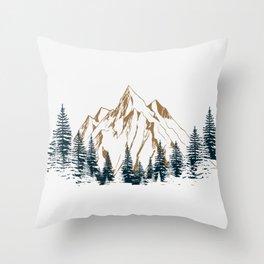 mountain # 4 Throw Pillow