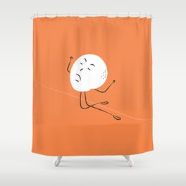 Simulation Shower Curtain