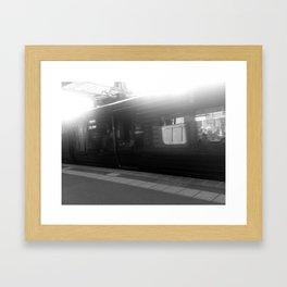 Train Framed Art Print