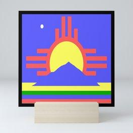 flag of Roswell Mini Art Print