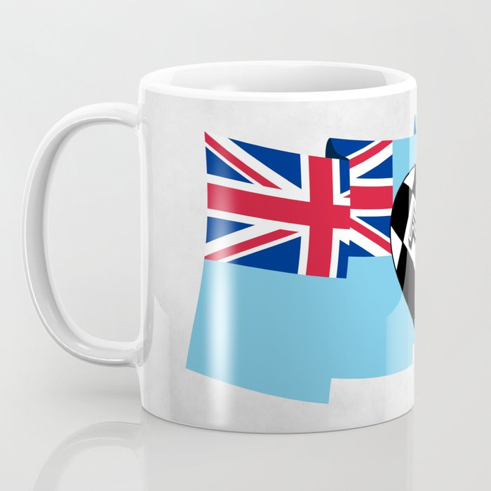 Fiji Rugby Flag Coffee Mug
