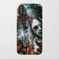 kurt cobain iPhone & iPod Cases featuring Kurt by Tordu Design JS Lajeunesse