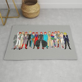 Retro Vintage Fashion 1 Rug
