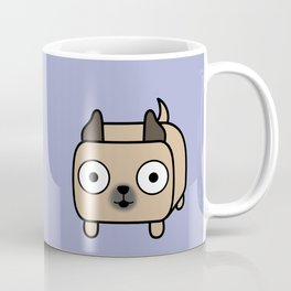 Pitbull Loaf - Fawn Pit Bull with Cropped Ears Coffee Mug