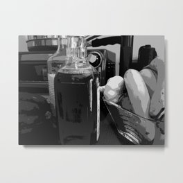 Kitchen Clutter Metal Print