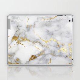 Italian gold marble Laptop & iPad Skin