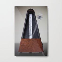Metronome Metal Print