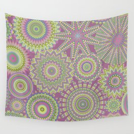 Kaleidoscopic-Fairytale colorway Wall Tapestry