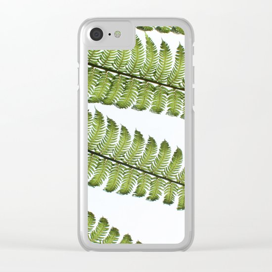 Cyathea II Clear iPhone Case