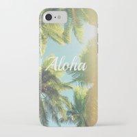 aloha iPhone & iPod Cases featuring AloHa by ''CVogiatzi.