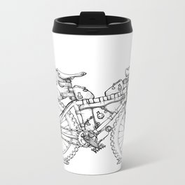 Bikepacking Metal Travel Mug