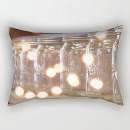 Mason Jars 3 Rectangular Pillow