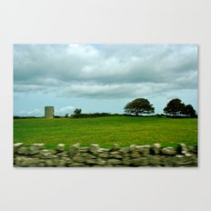 Speeding By The Irish Countryside Canvas Print