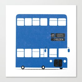 Chelsea bus Canvas Print