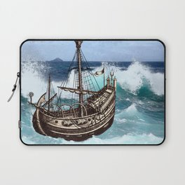 Sea Fever Laptop Sleeve